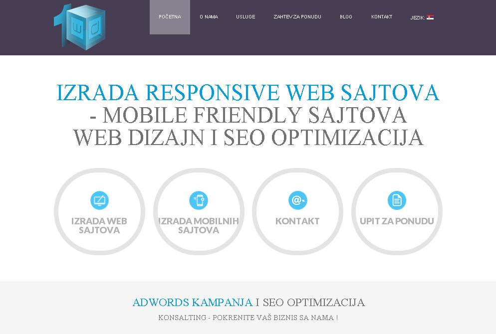 1 WEB DIZAJN