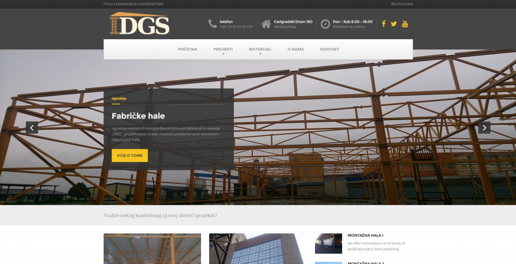 IDGS montažne industrijske hale